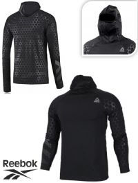 Men's Reebok Hex Reflective Hoodie (BQ3612) (Option 1) x7: £18.95